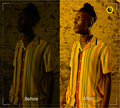 Take natural-looking photos easily with the iPhone 11 Pro camera's night mode.
