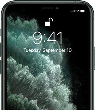 Face ID makes your iPhone 11 Pro secure.