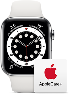 Get damage repair for your Apple Watch with AppleCare+.