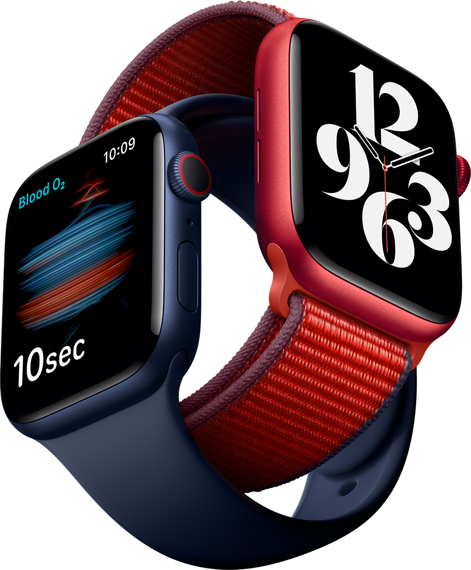 The Apple Watch Series 6 comes with a full suite of health features.