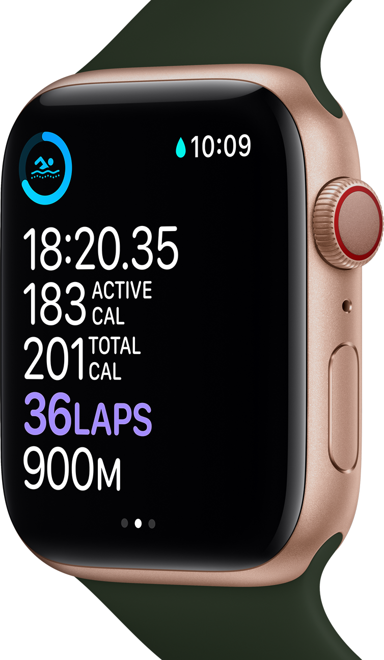 Apple Watch Series 6 comes with a comprehensive fitness tracker.