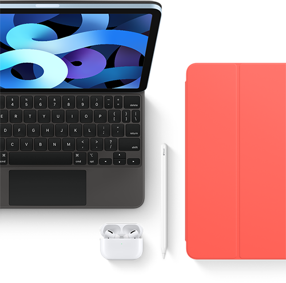 Find cases and keyboards for your iPad Air.