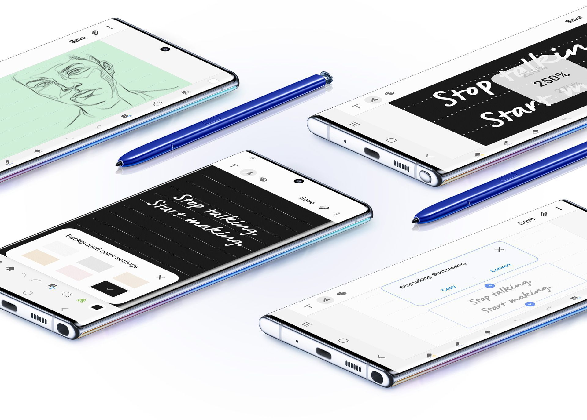 The Samsung Galaxy Note10+ connects easily to both PCs and Macs for increased productivity.