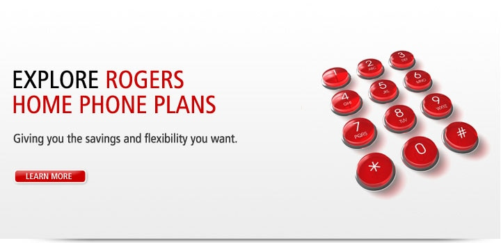Explore Rogers Home Phone Plans