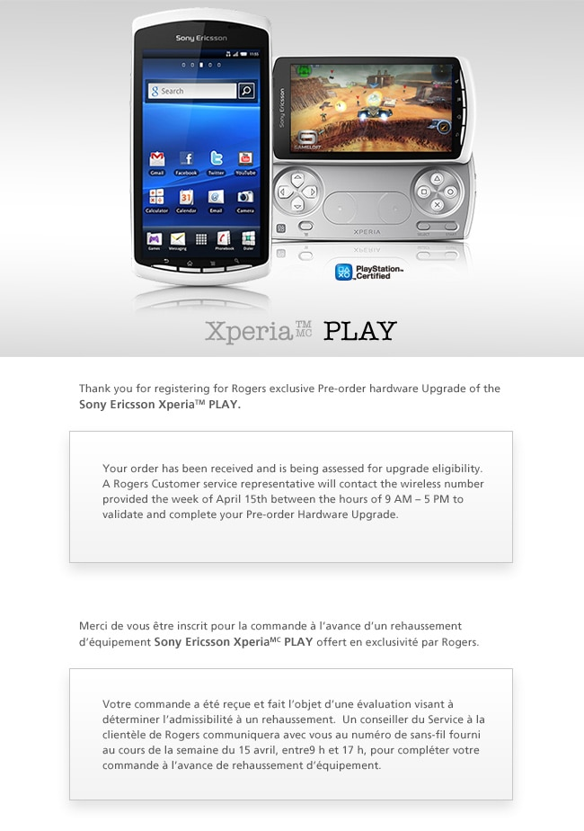 been unlock sony ericsson xperia play free telephonic