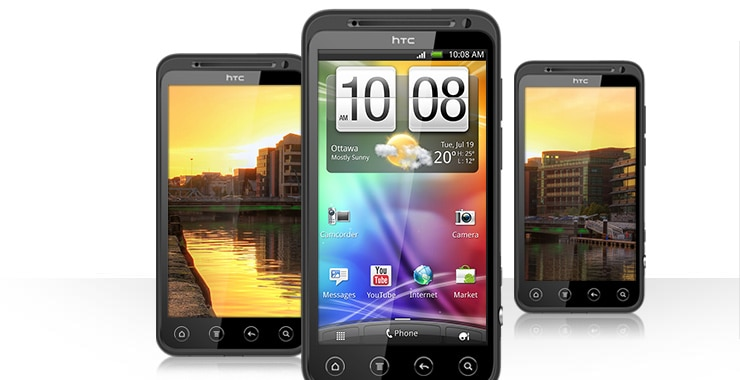 All New HTC EVO 3D