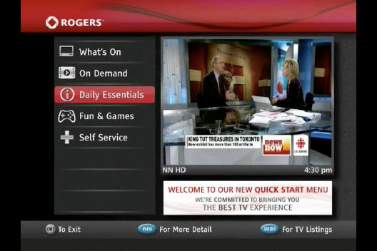 What is Rogers TV?