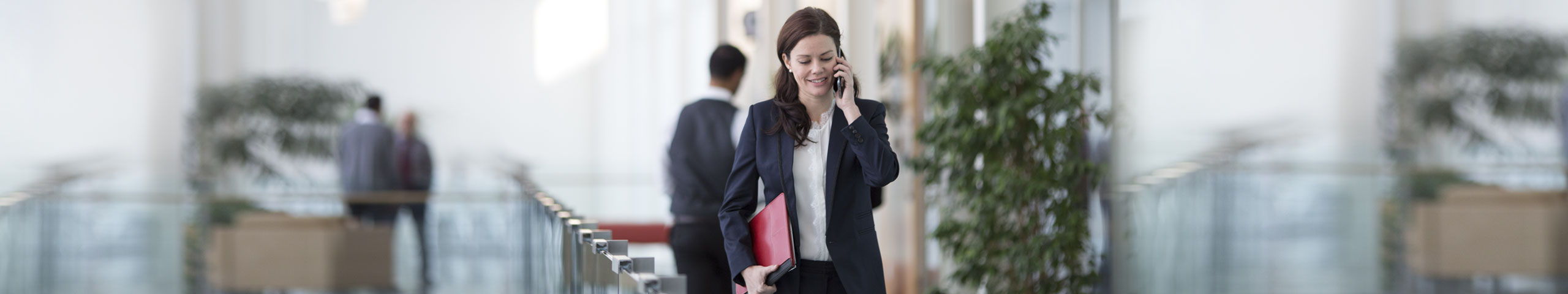 businesswoman speaking on the phone