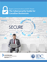 Complimentary Cybersecurity guide detailing how to fight cyberattacks which was developed by Rogers