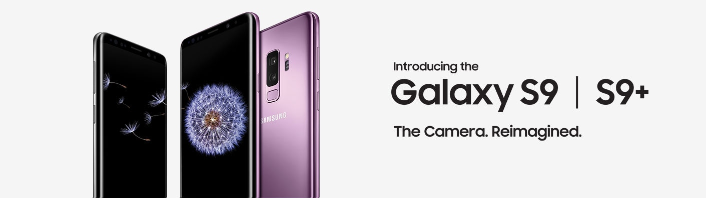 Introducing the Galaxy S9 | S9+. The Camera. Reimagined.