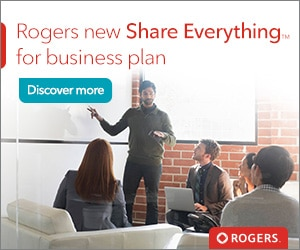 Rogers new Share Everything for business plan