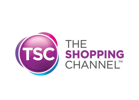 The Shopping Channel logo and type treatment is displayed.