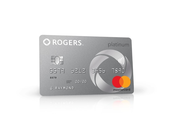 Rogers First Rewards™ MasterCard is displayed.