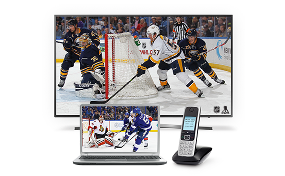 Hockey playing on multiple devices