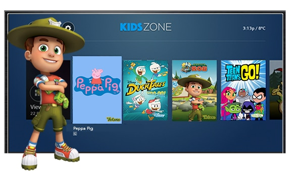KidsZone on Ignite TV is a safe and fun space for kids to watch their favourite shows