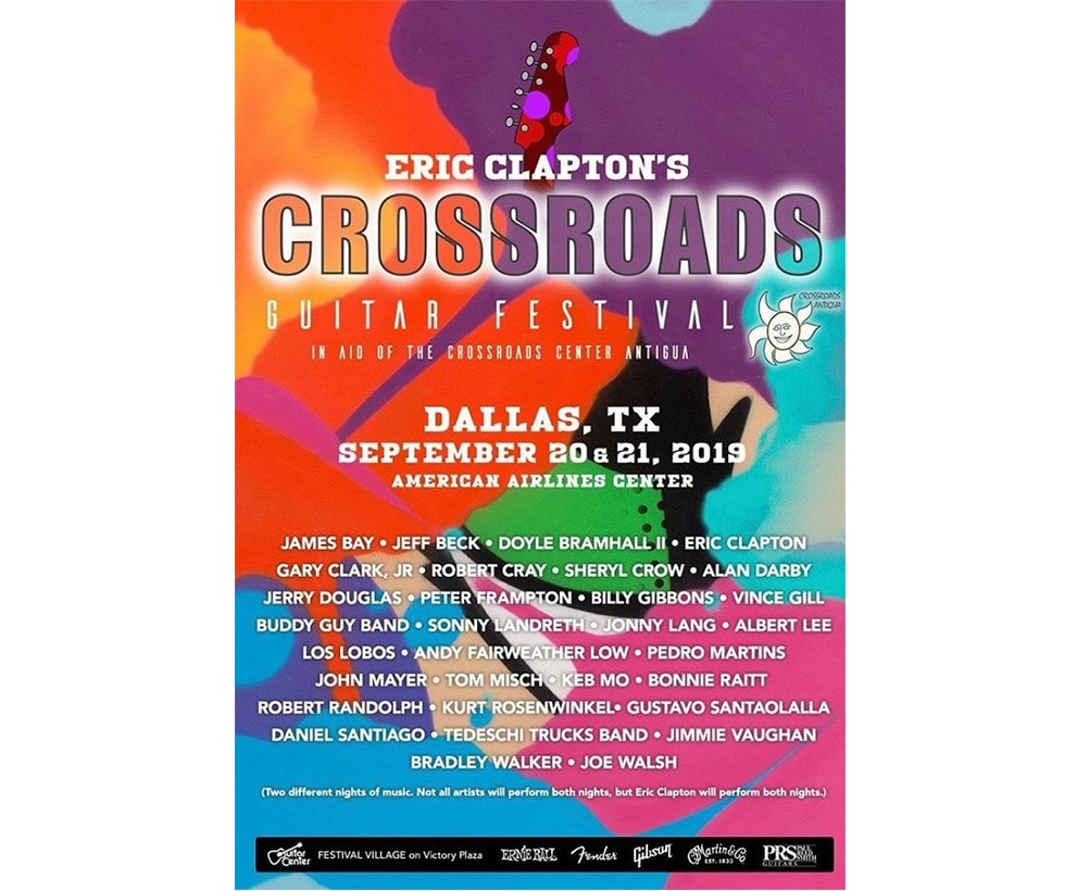 Crossroads Guitar Festival Night 1 and 2