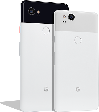 The Pixel 2 and the Pixel 2 XL by Google.