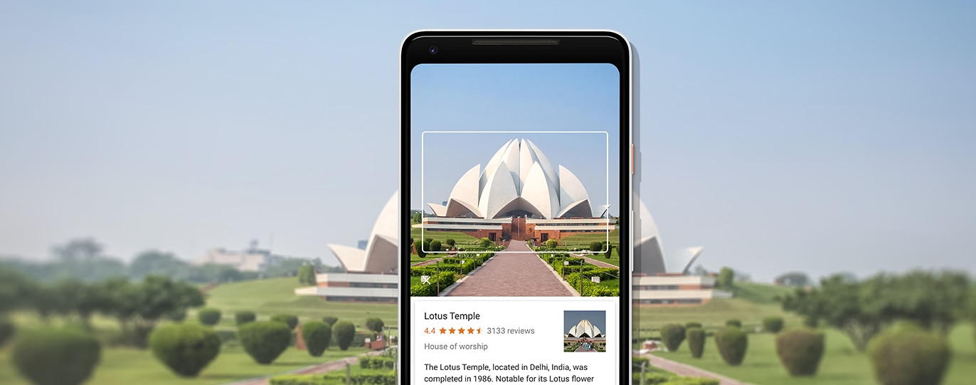 The Google Pixel 2 comes with Google Lens.