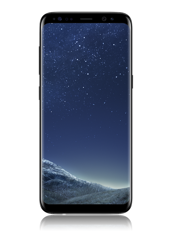 The Samsung S8 smartphone.