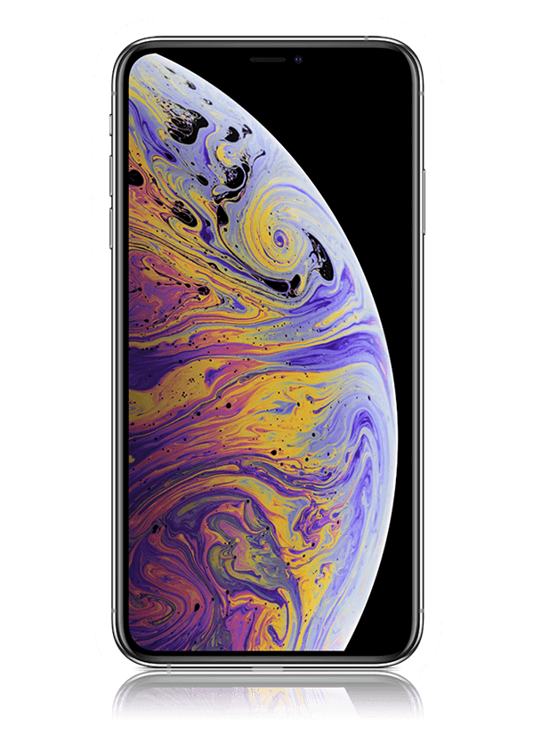 The iPhone XS Max smartphone.