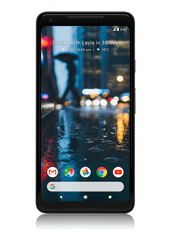 The Google Pixel 2 XL smartphone.