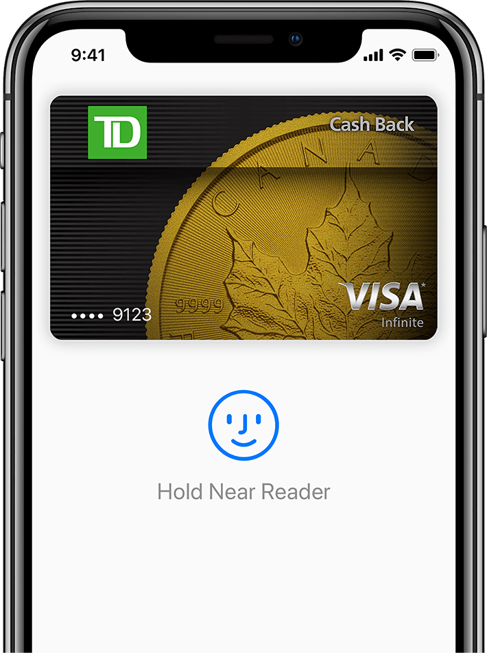 iPhone X with Apple Pay
