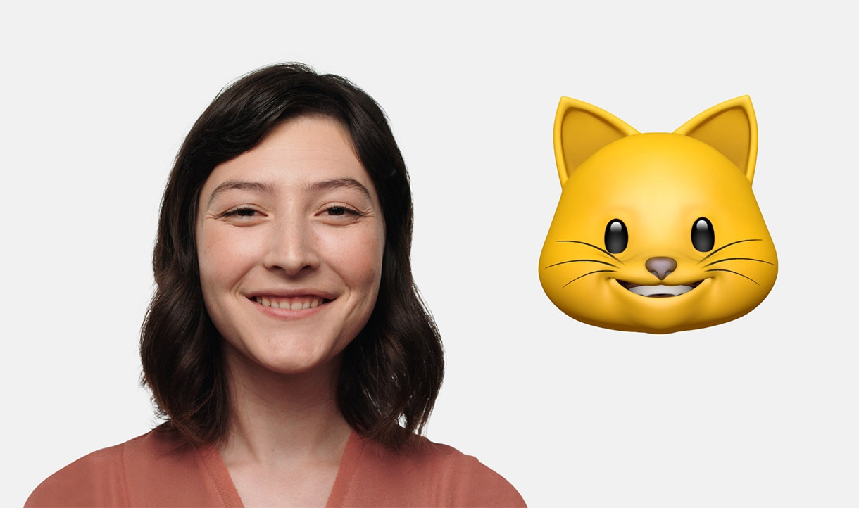 iPhone X creates animojis from your face