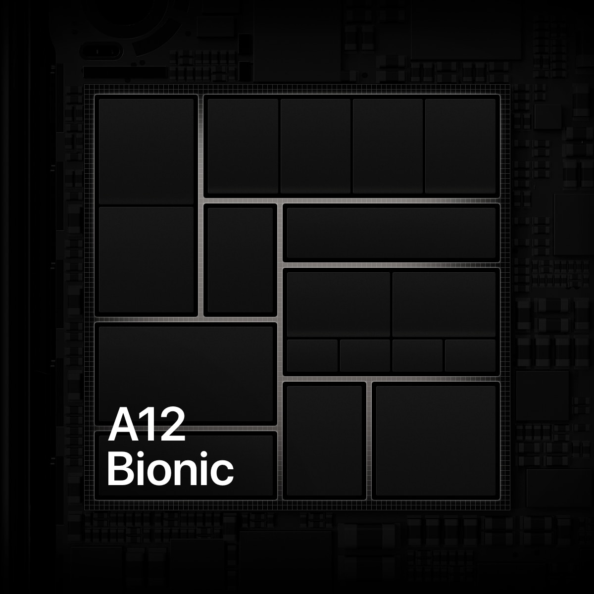 The iPhone XS and XS Max come with the A12 Bionic chip.