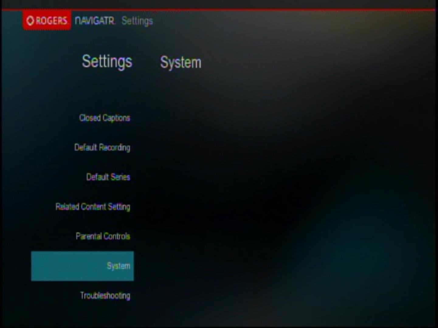 Manage the channel change banner in the Navigatr guide - Rogers