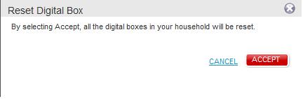 Reset your TV's digital box - Rogers