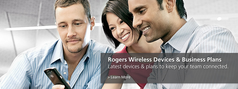 Keep your team connected with the latest wireless devices & business plans from Rogers
