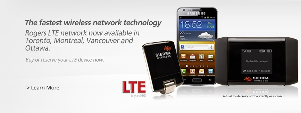 Rogers LTE Rocket Stick